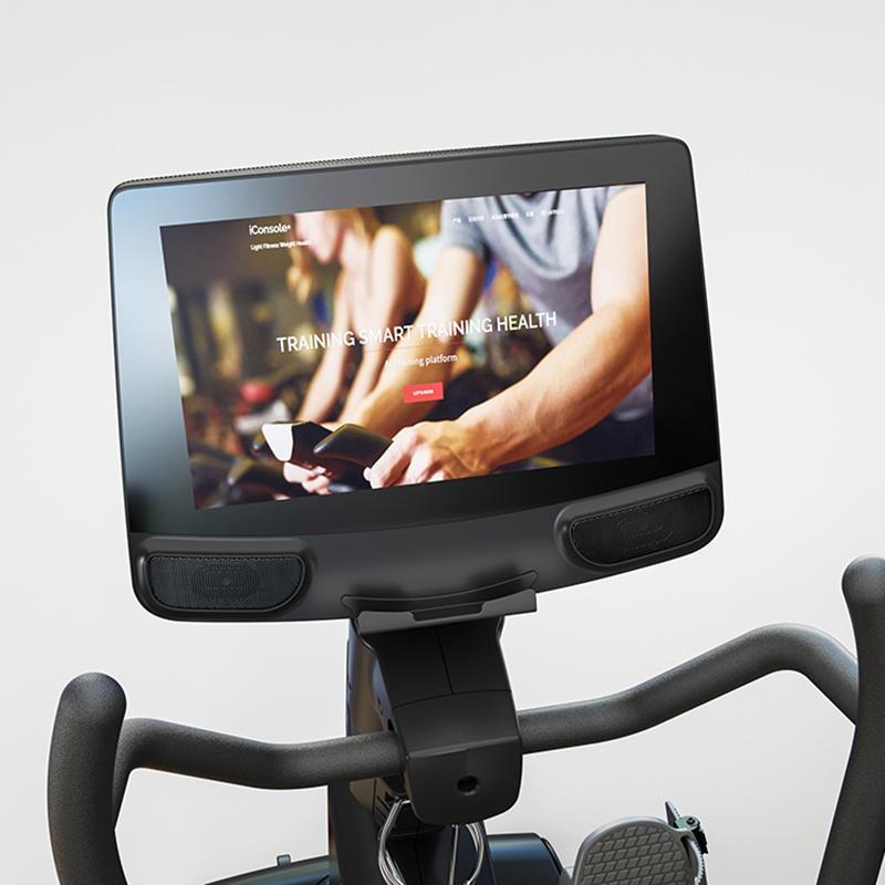LJ-9517 Touch screen recumbent bike