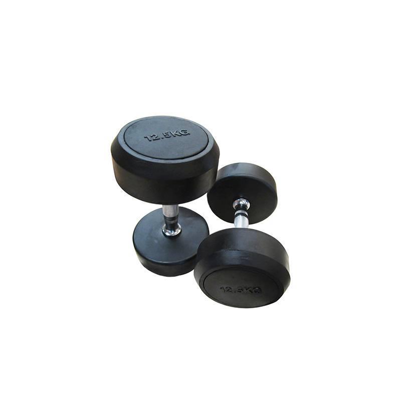 LJ-03B(Fixed rubber coated dumbbell)