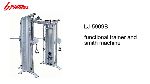 LJ-5909B Functional trainer and smith machine