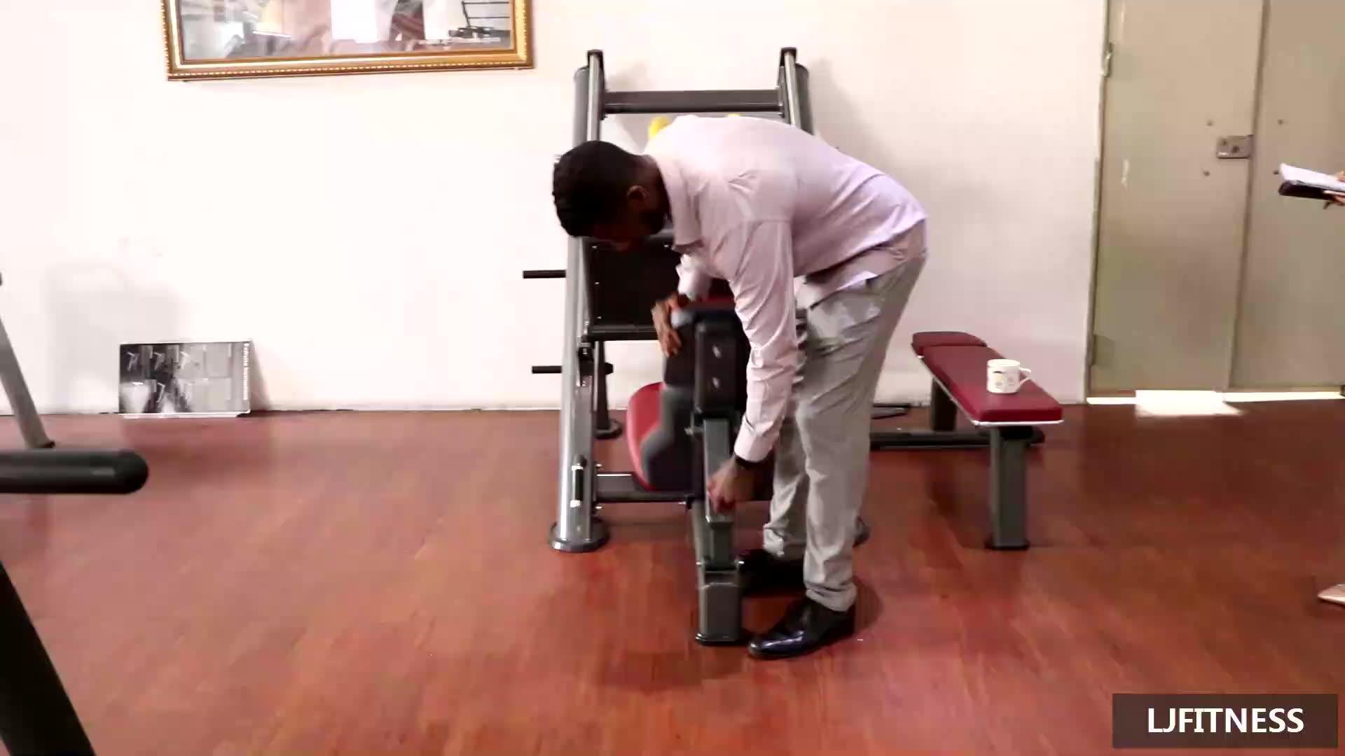 LJ-5521A 45 degree leg press machine