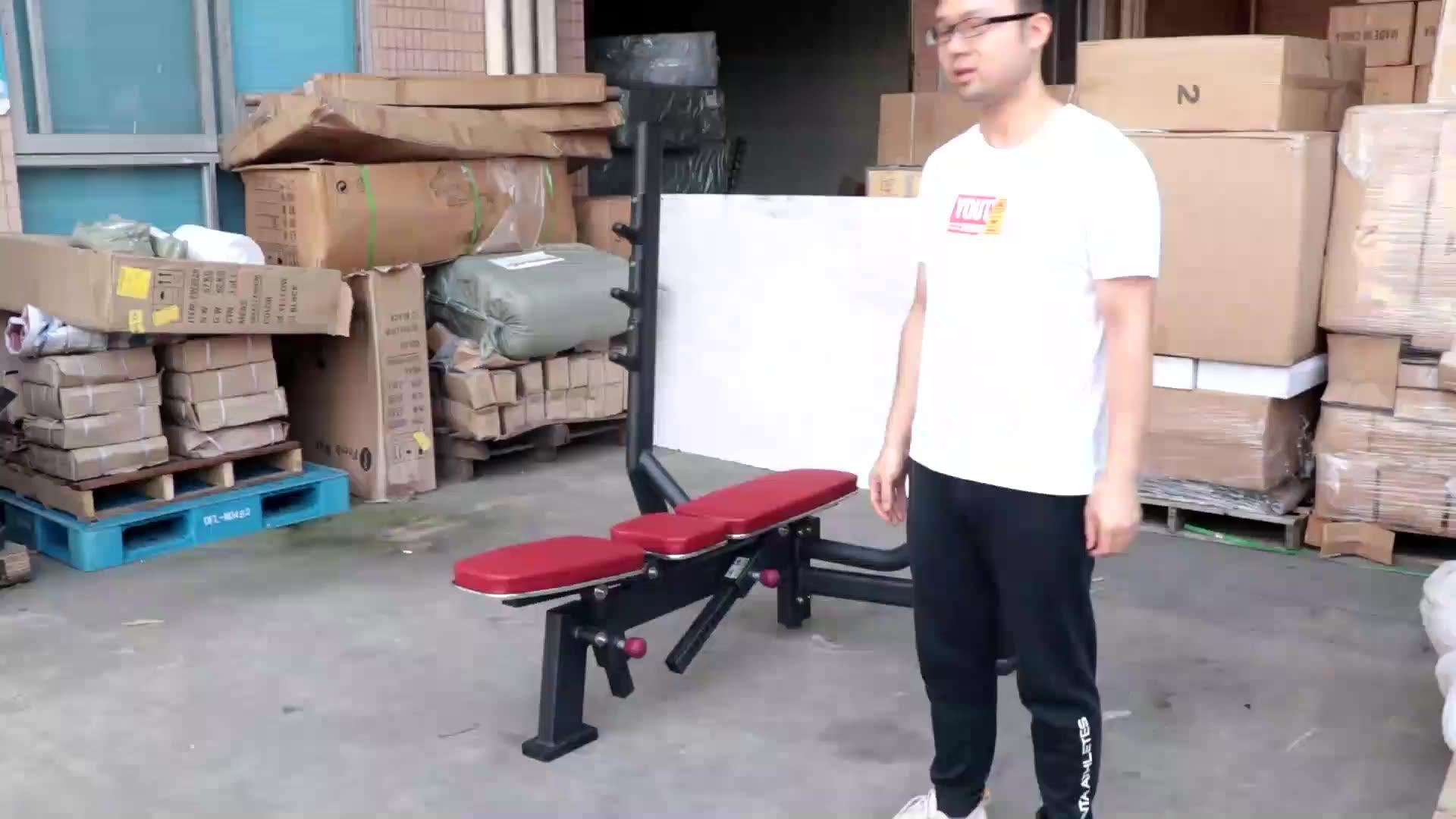 LJ-5523A Flat bench &lncline bench