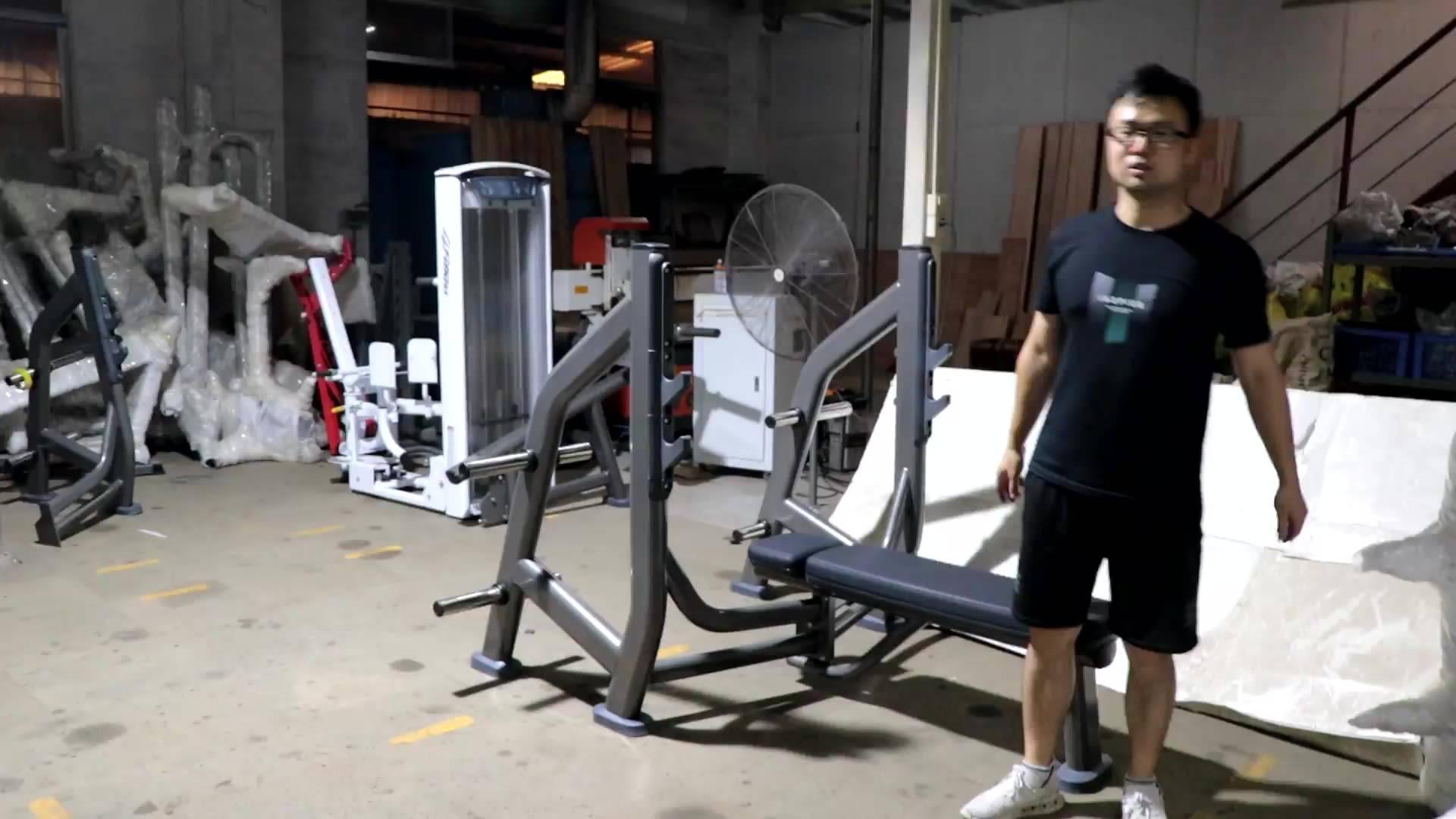 LJ-5125 Olympic bench weight storage