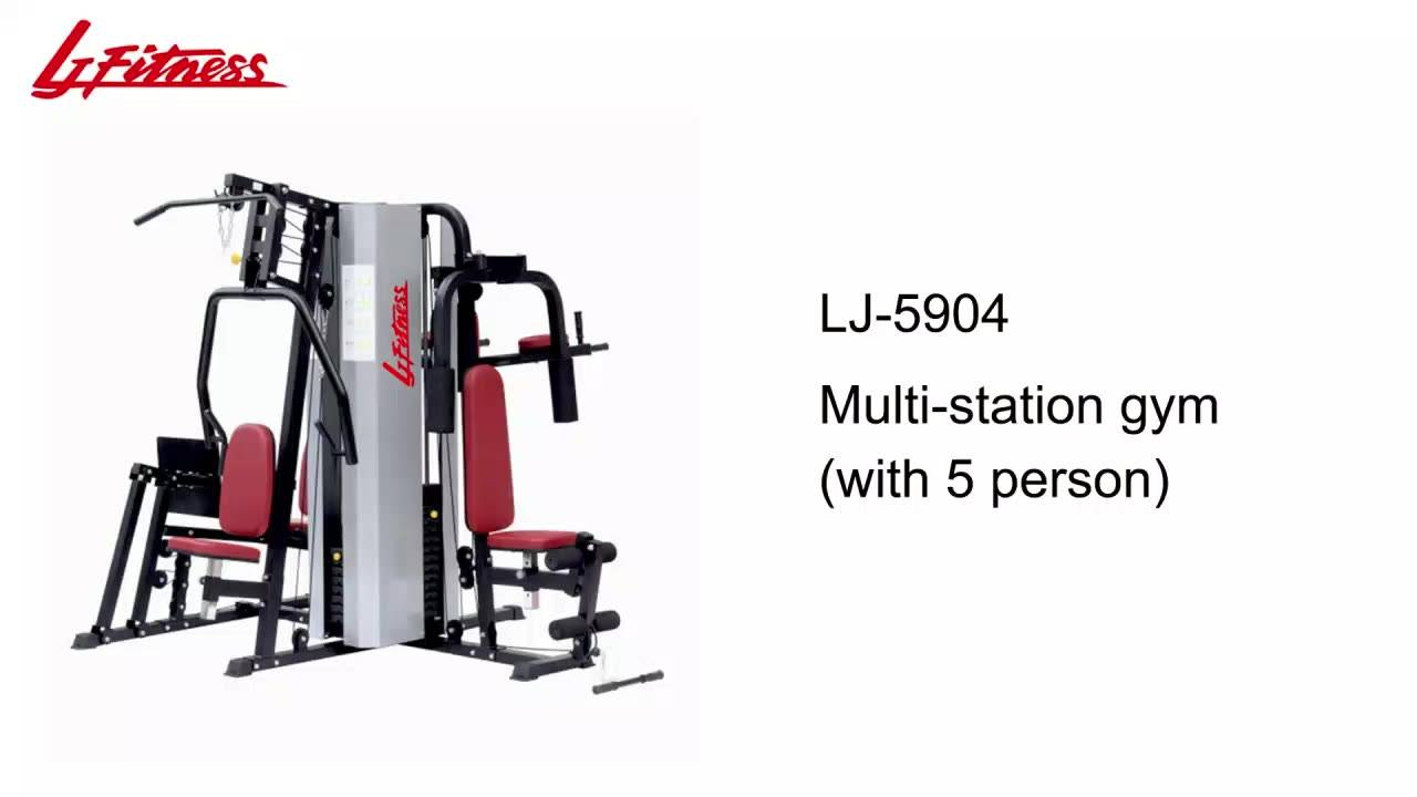 LJ-5904 5 multi-station gym(with 5 person)