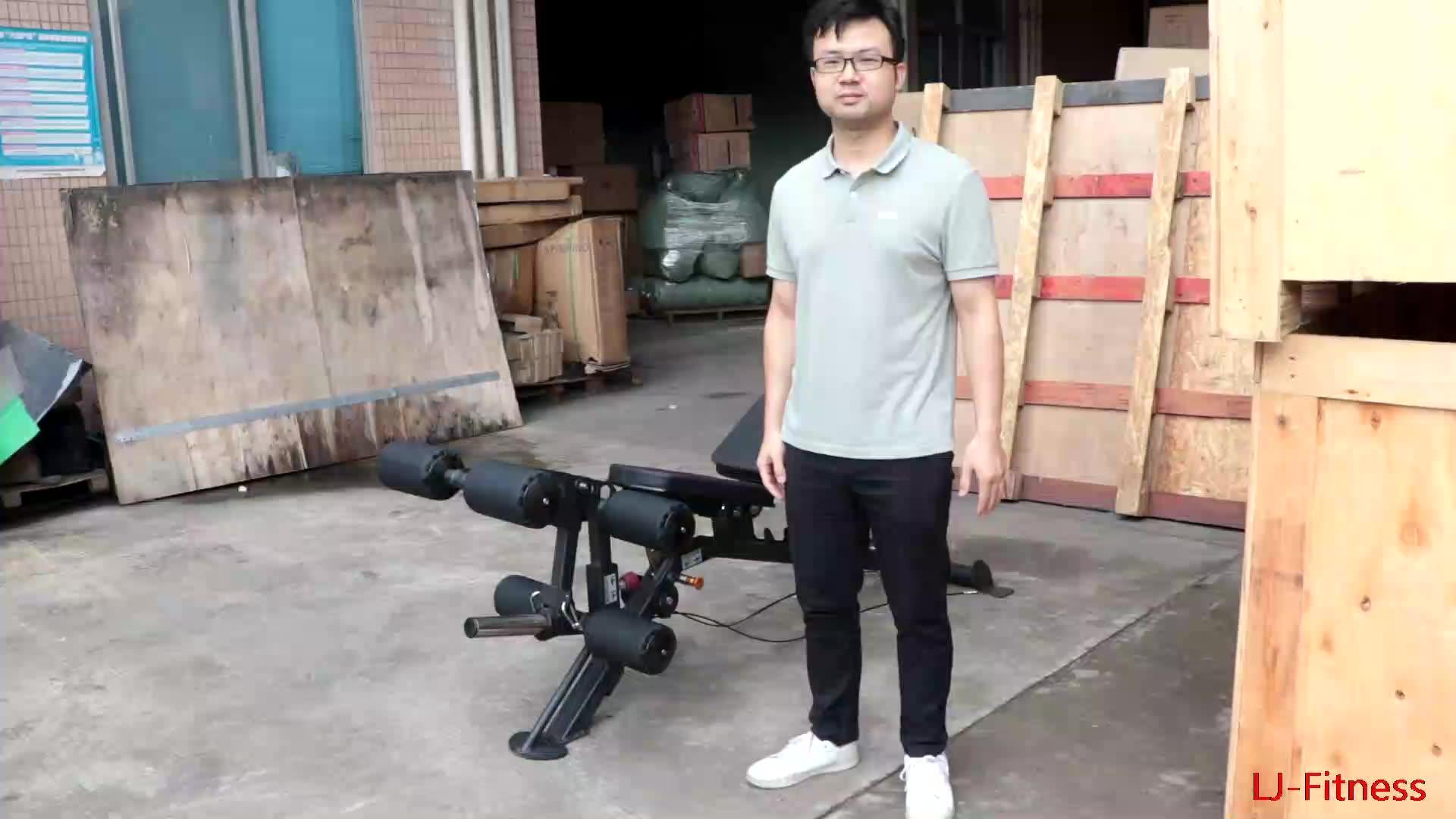 LJ-810  Multifunctional Adjustable Bench